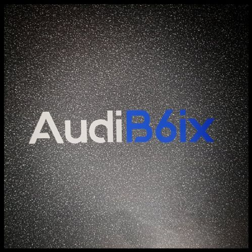"""OFFICIAL""  Audi B6ix Club Stickers"